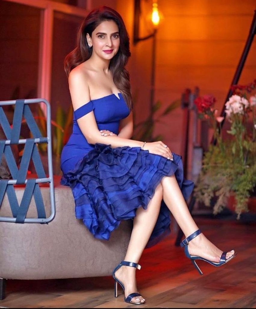Public Criticism On Saba Qamar's Exposing Outfit
