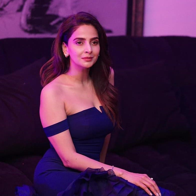 Beautiful Pictures From Saba Qamar's Birthday Party