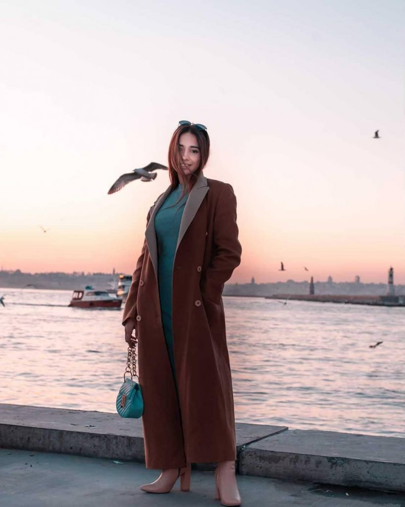 Sabeena Farooq Having Fun On Vacations In Turkey