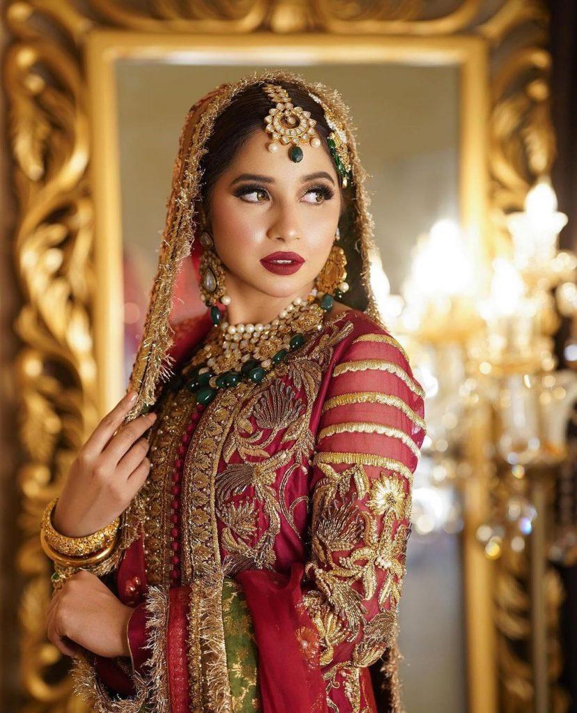 Sabeena Farooq Radiates Charm In Her Latest Bridal Shoot