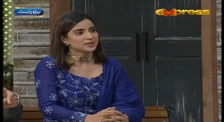 Saboor Aly Taunted Aamir Liaquat During Live Show