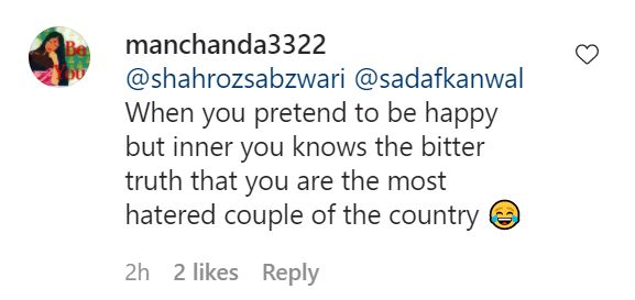 Sadaf Kanwal Faces Immense Criticism On Her Recent Picture
