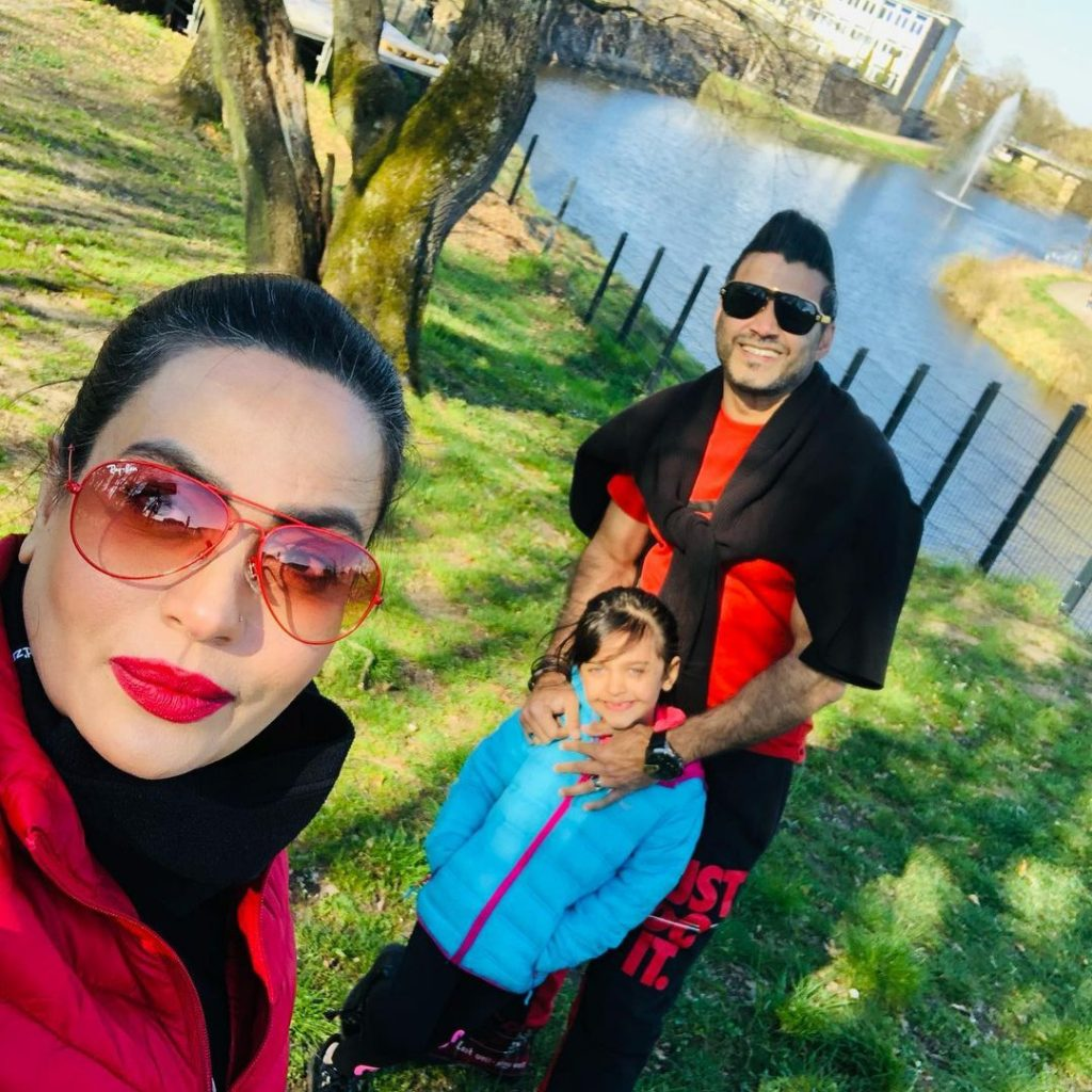 Sadia Imam Recent Pictures With Family