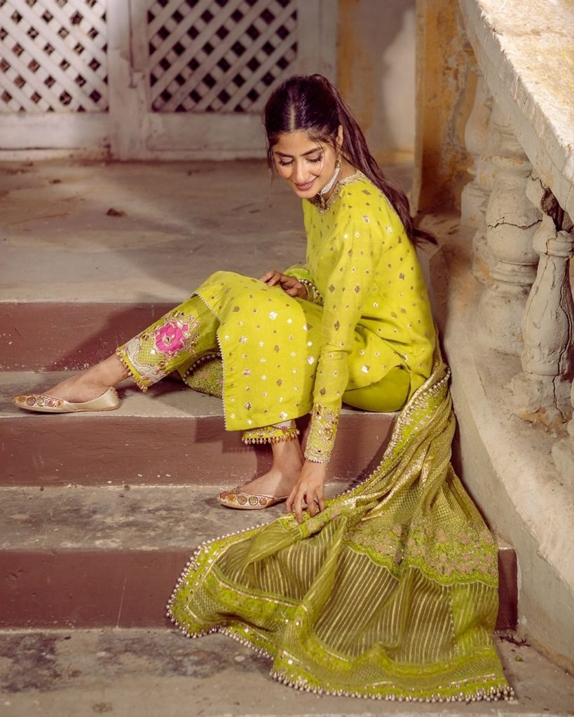 Sajal Aly Looked Ethereal In Latest Photoshoot