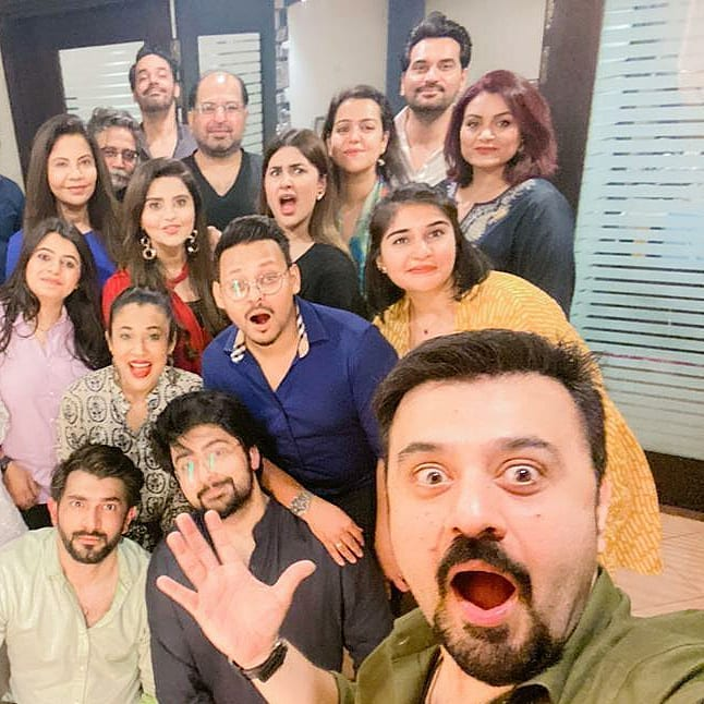 Celebrities Spotted At Sana Shahnawaz's Birthday Bash