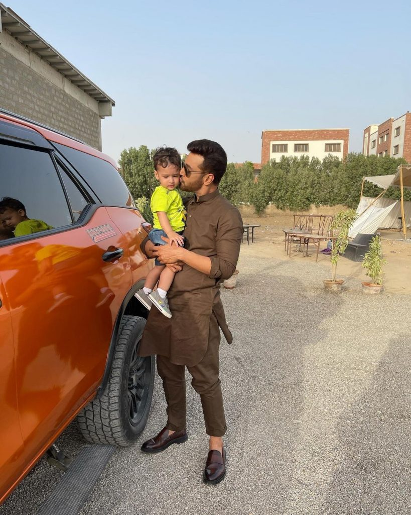 Faysal Quraishi Beautiful Family Pictures