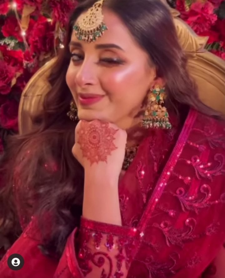 Sanam Chaudhry Looking Marvelous At A Family Wedding