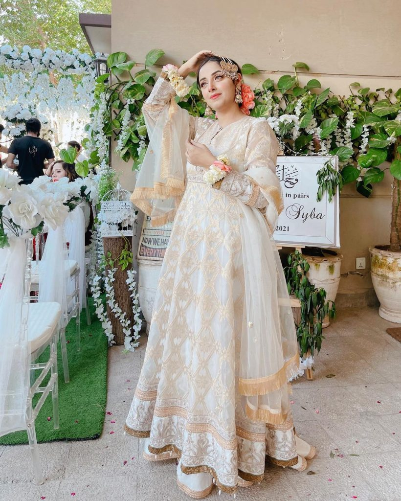 Sanam Chauhdry Looked Regal At A Recent Nikkah Ceremony