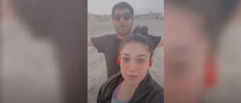 Sanam Jung Spending Some Joyful Time With Her Husband - New Vlog