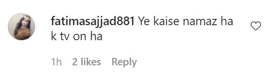 Public Reaction On A Recent Video Shared By Sarwat Gilani