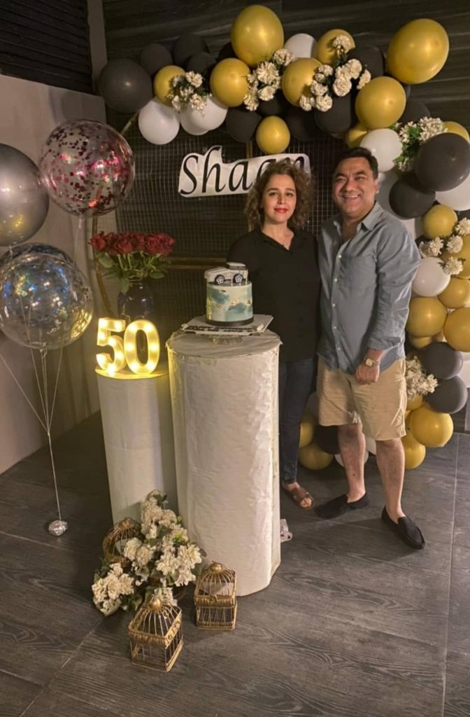 Shaan Shahid Celebrated His 50th Birthday With Family