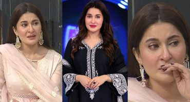 Why Shaista Lodhi Got Emotional During Live Transmission