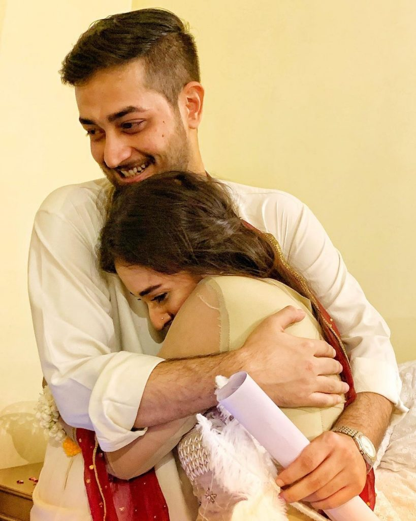 Khaani Famed Shehzeen Rahat Tied The Knot