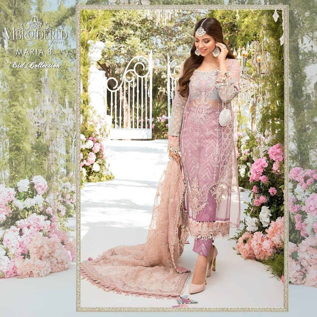 Maria.B Upcoming Eid Collection Featuring Sonya Hussyn