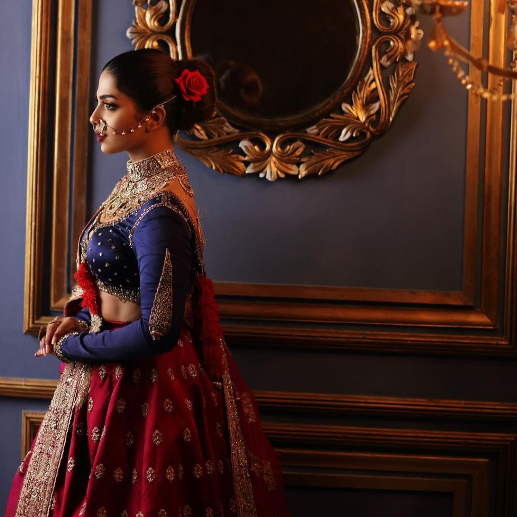 Sonya Hussyn Looks Undeniably Gorgeous In Her Latest Bridal Shoot