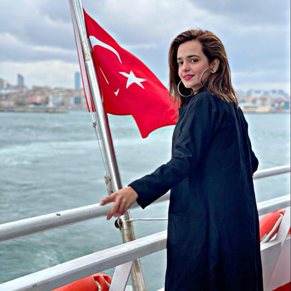 Sumbul Iqbal Enjoying Vacations In Turkey