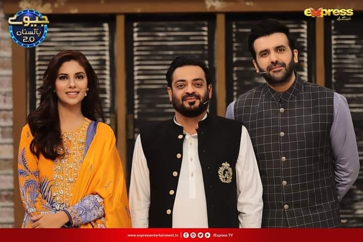 Sunita Marshall And Hassan Ahmed-Couple Pictures From Jeeeway Pakistan