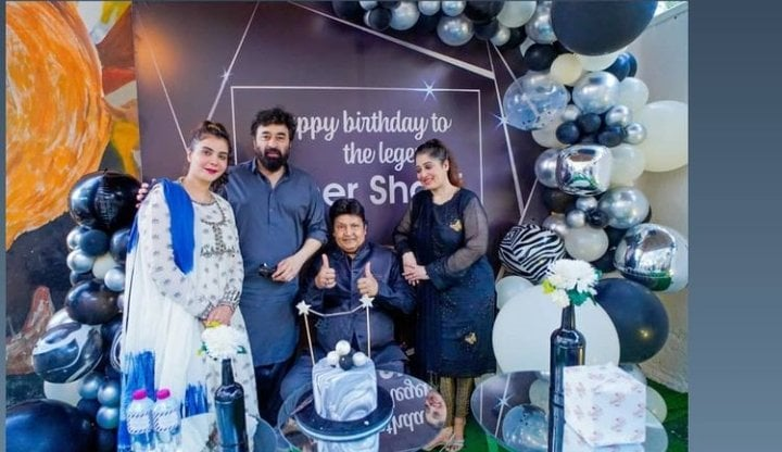 Umer Sharif's Birthday Party Hosted By Nida And Yasir At Their Restaurant