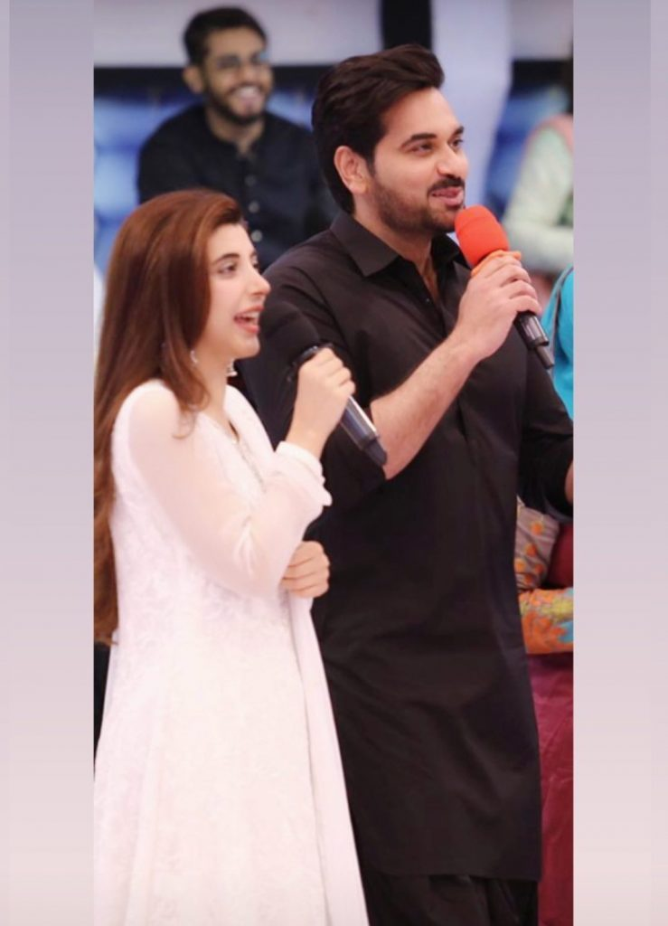 Urwa Hocane and Ali Rehman Khan Spotted At Jeeto Pakistan- JPL