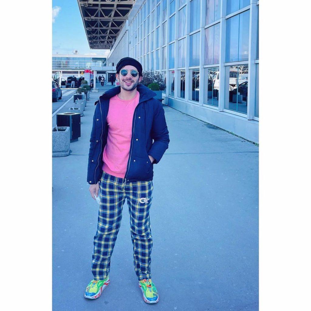 Usama Khan Vacationing In Turkey