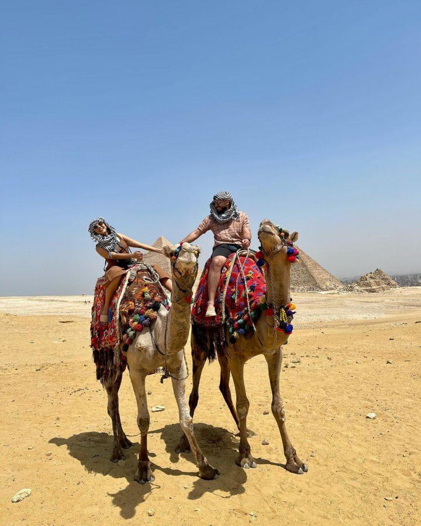 Waliya Najib And Faizan Sameer Exploring Egypt