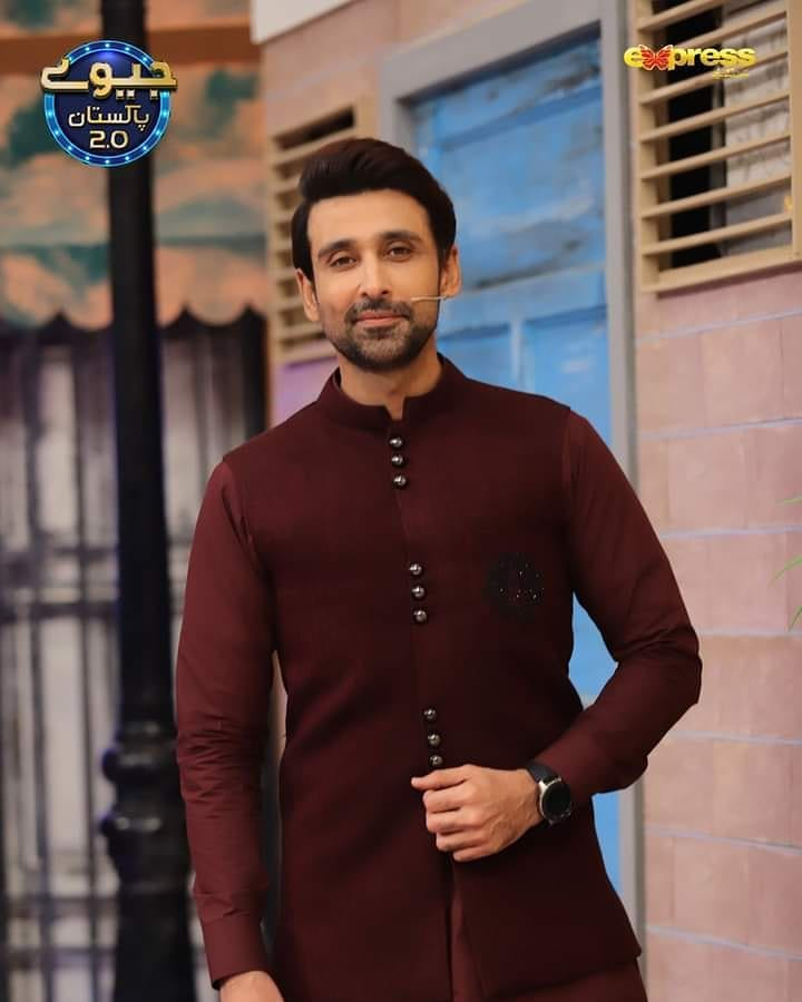 Zarnish Khan And Sami Khan Pictures From Jeeway Pakistan