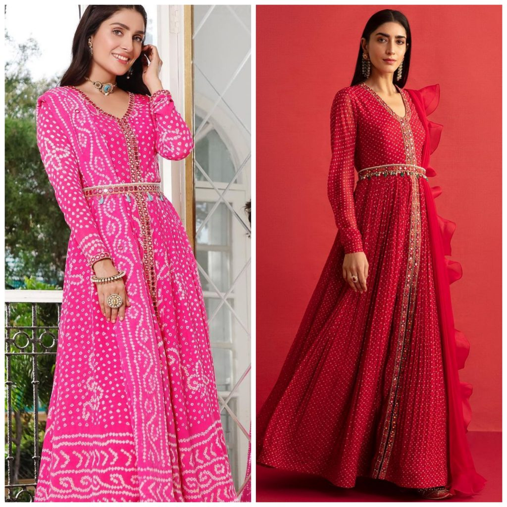 Is Ayeza Khan's Eid Dress Copied From Indian Designer