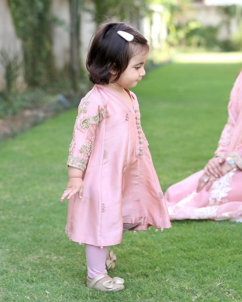Adorable Eid Pictures Of Aisha Khan With Her Family
