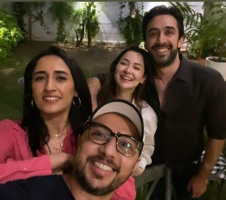 Ali Rehman Khan Celebrated Birthday With Close Friends