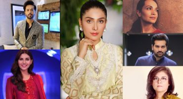 Ayeza Khan Took Out A Moment To Cherish The Work Of Our Legendary Stars