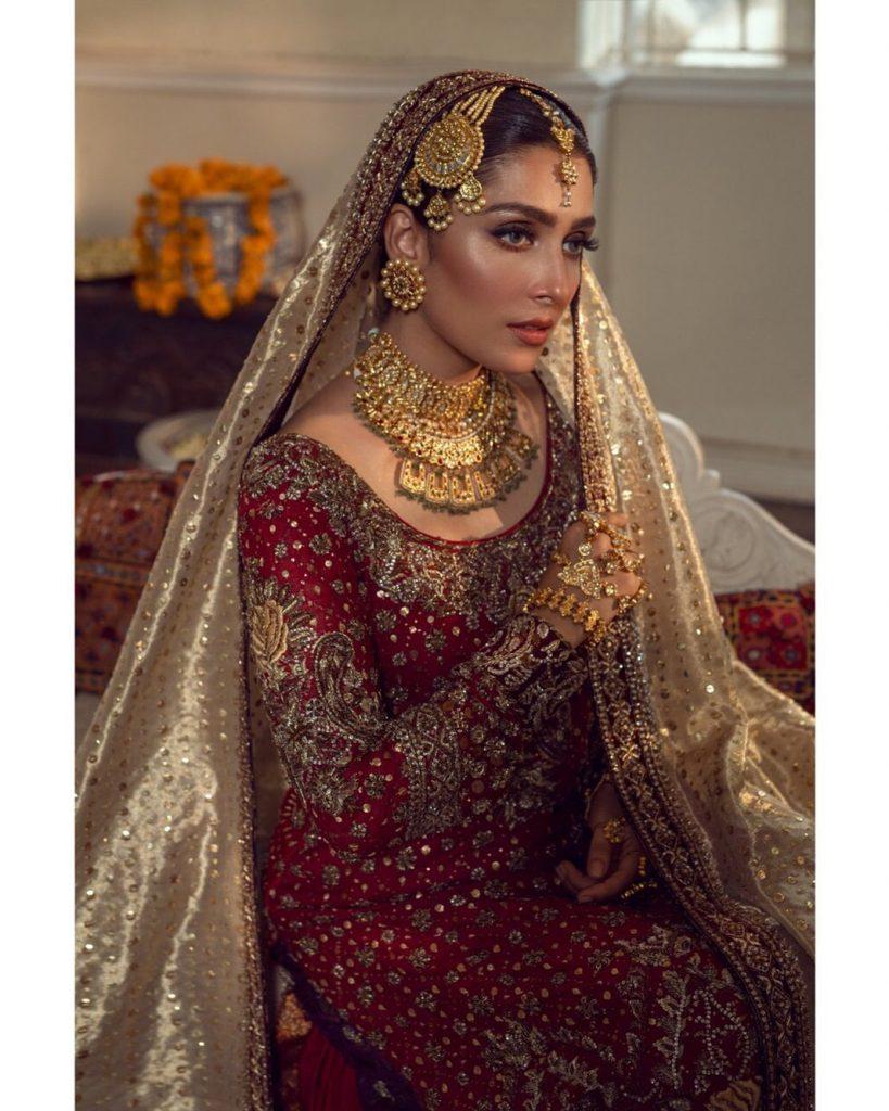 Ayeza Khan's Latest Best Bridal Looks