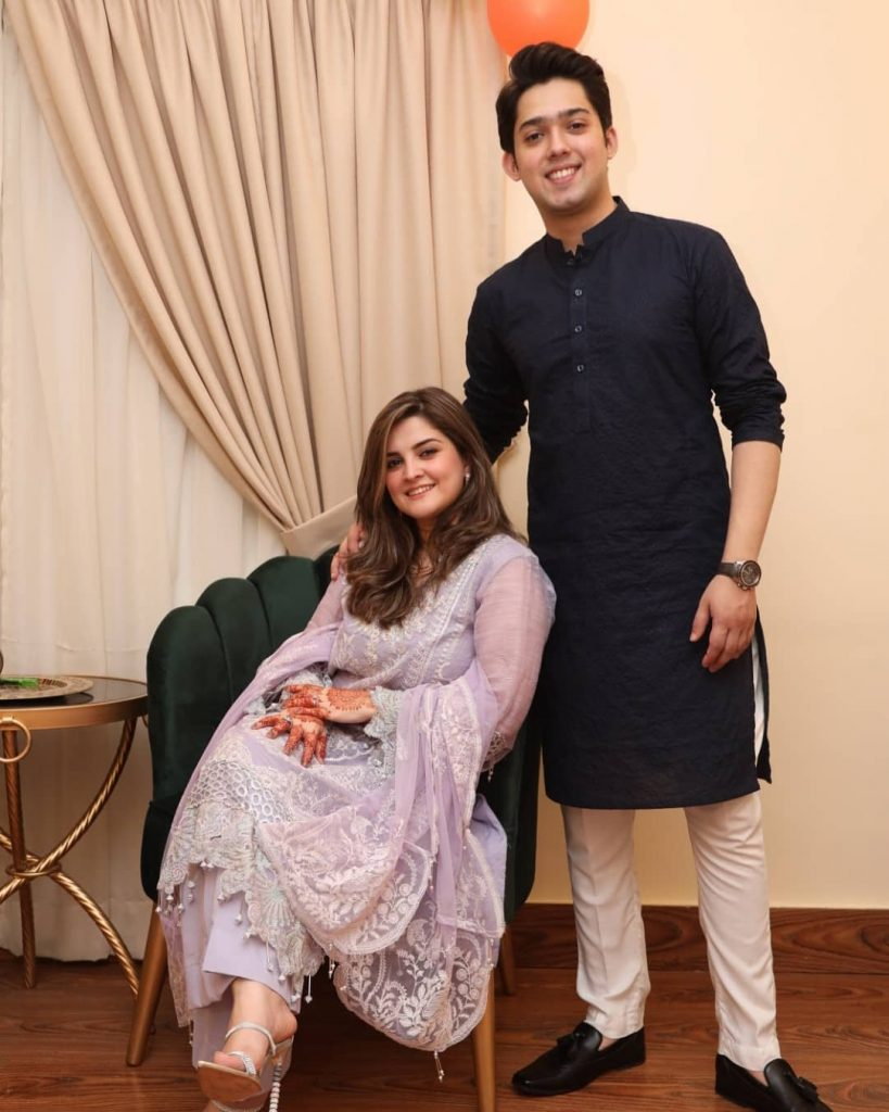Bilal Abbas Brother Shahbaz Abbas New Pictures With Wife