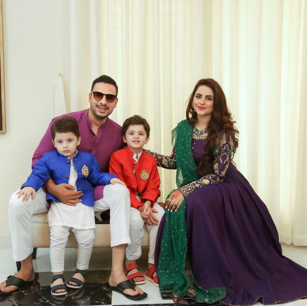 Kanwar Arsalan And Fatima Effendi Eid Pictures 2021