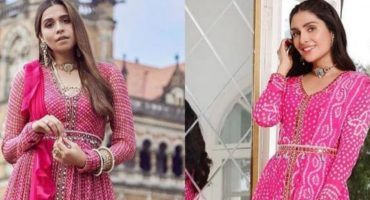 Is Ayeza Khan's Eid Dress Copied From Indian Designer