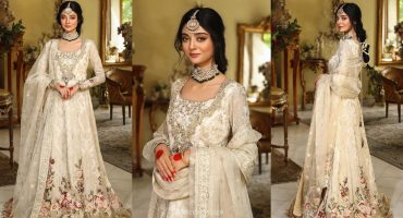 Latest Bridal Shoot Featuring Noor Zafar Khan