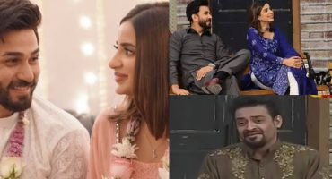Instance When Aamir Liaquat hinted Towards Saboor & Ali tying the Knot
