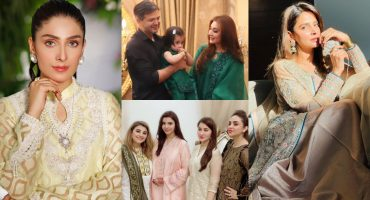 Beautiful Pictures Of Pakistani Celebrities Celebrating Eid-ul-Fitr 2021 - Day 3