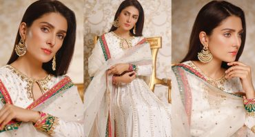 Stunning Pictures Of Ayeza Khan Celebrating Eid-ul-Fitr Day 2