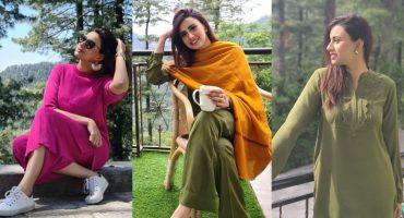 Madeha Naqvi Enjoying Summer Vacations In Northern Areas Of Pakistan