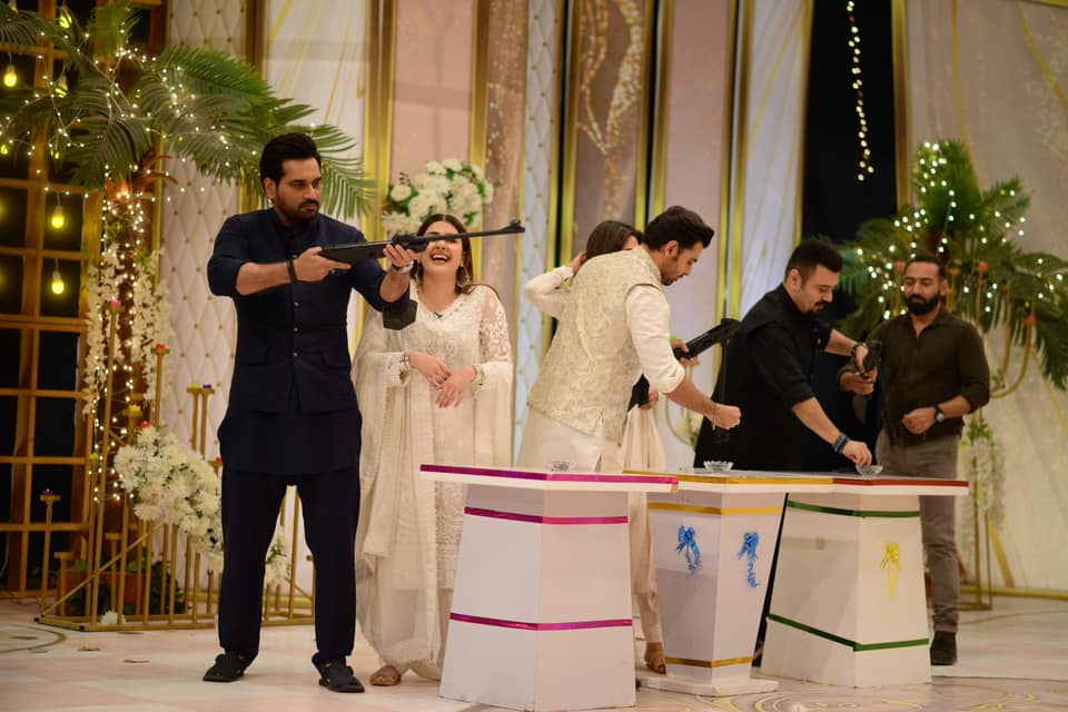 Celebrities Spotted At GMP Eid Show Day 1