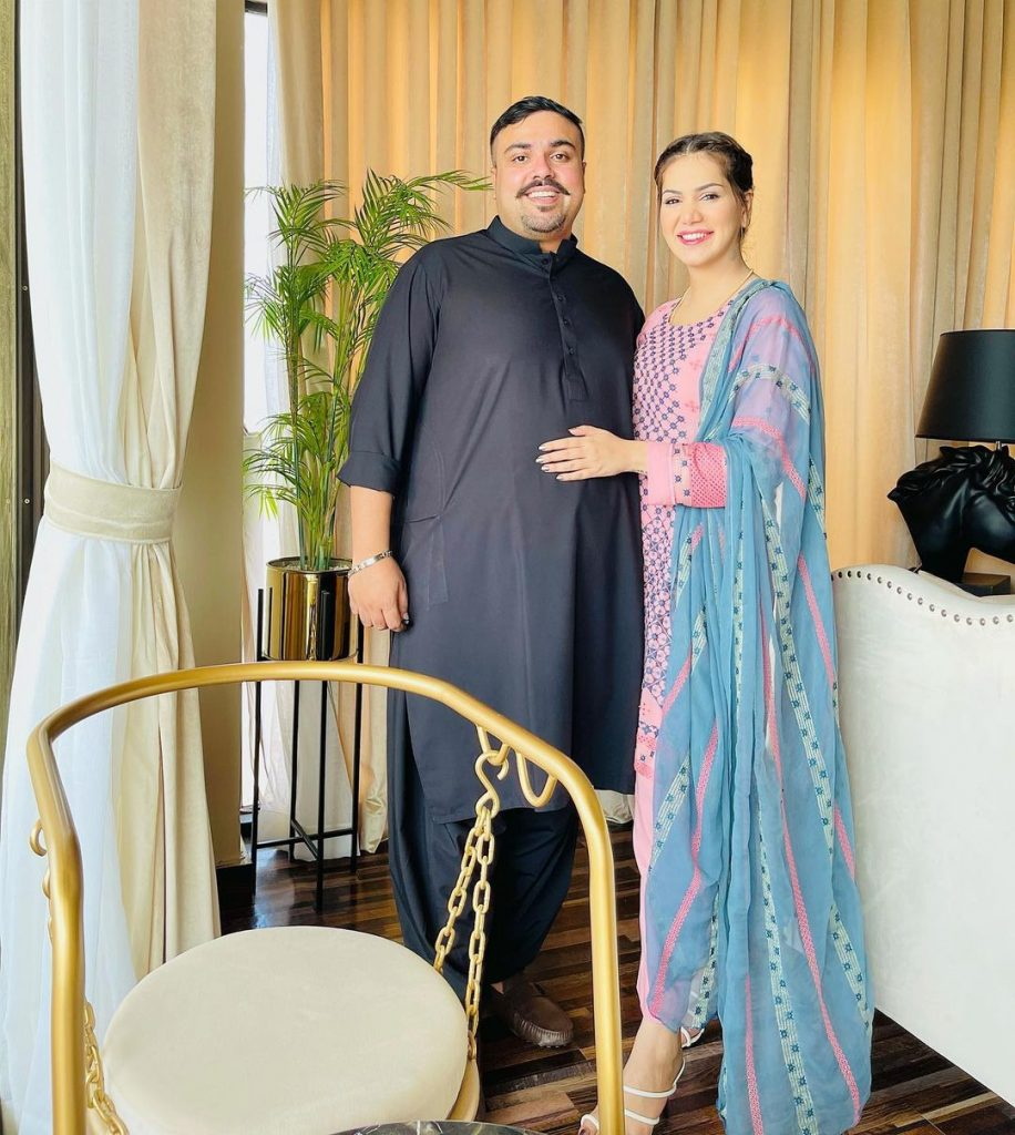 Ghana Ali Posing With Husband After Marriage