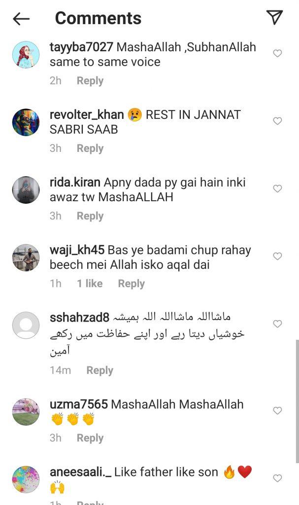 Public Lauds Amjad Sabri Son's Rendition of Bhar Do Jholi
