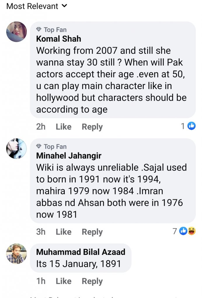 Netizens Believe That Ayeza Khan is Confused About Her Age