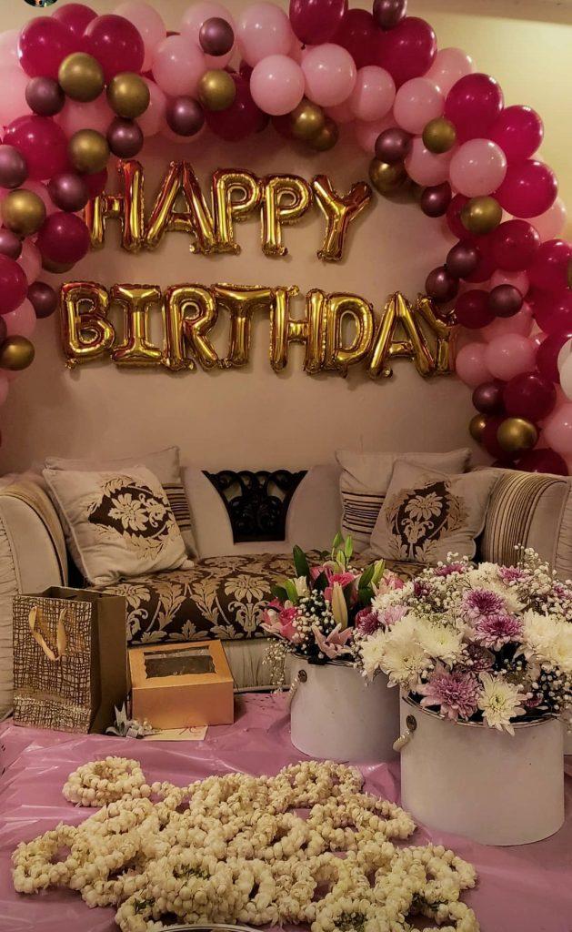 Shagufta Ijaz Beautiful Pictures From Her Birthday