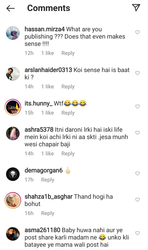 Sadaf Kanwal Under Criticism After Sharing a Quote