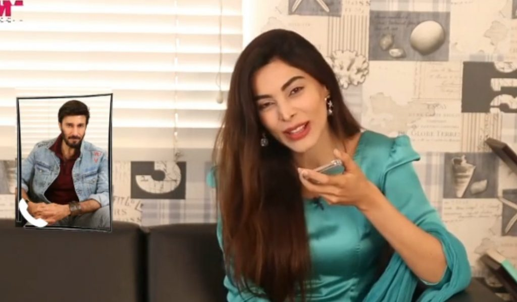 Eshal Fayyaz Funny Prank Call With Aijaz Aslam