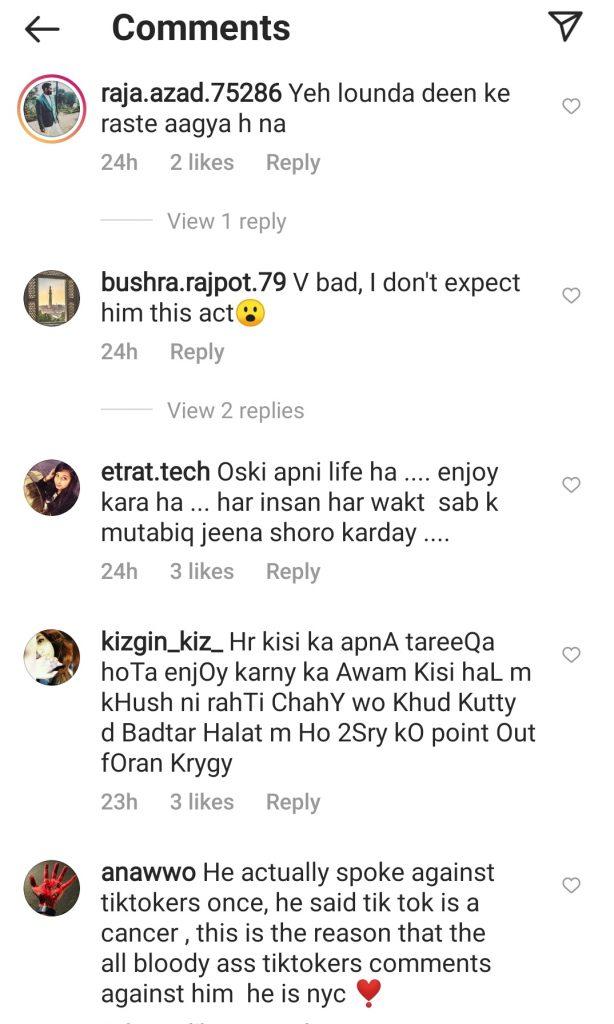Feroze Khan's Recent Video Stirred Overdose Of Public Criticism