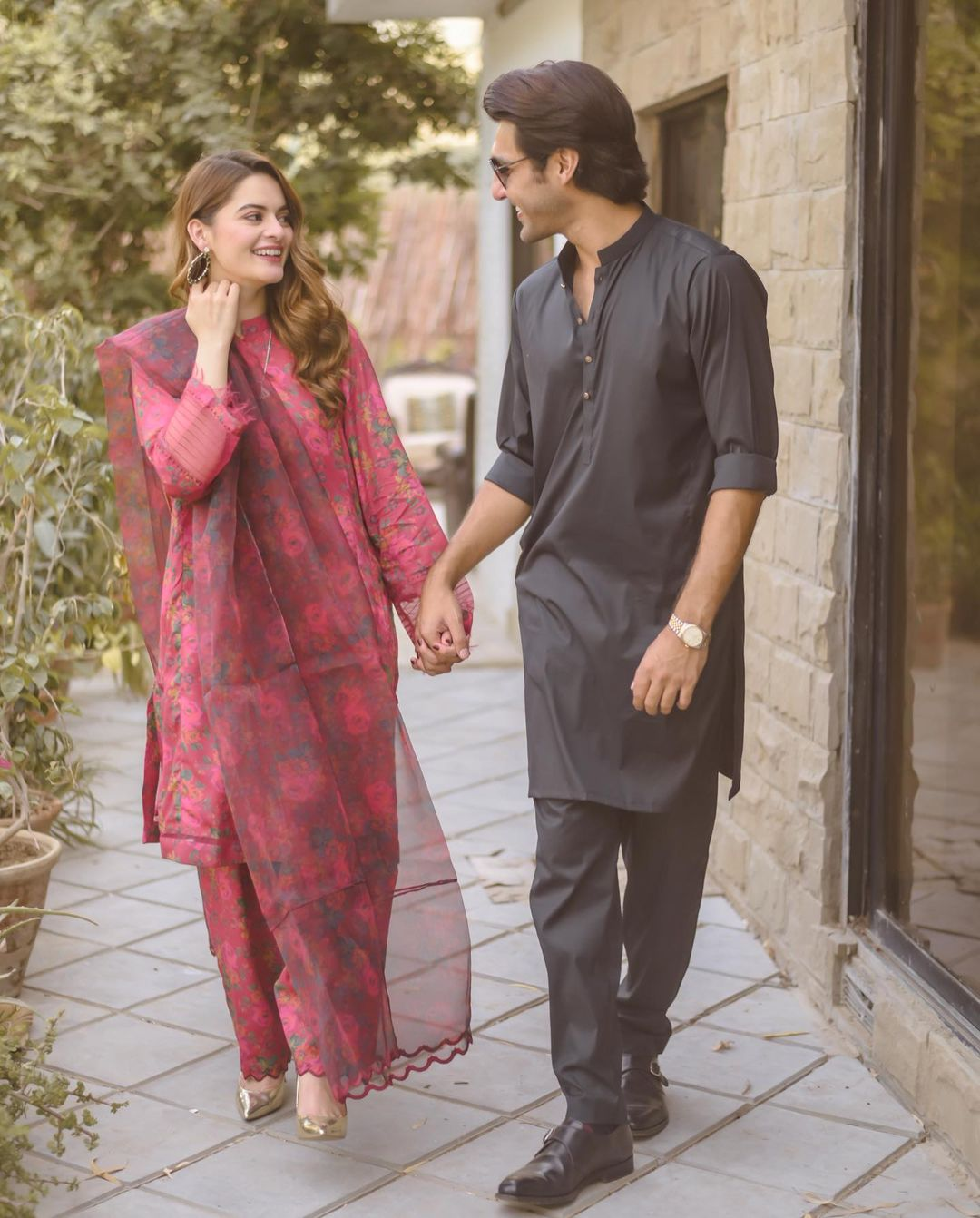 Minal Khan and Ahsan Mohsin are Engaged - Pictures
