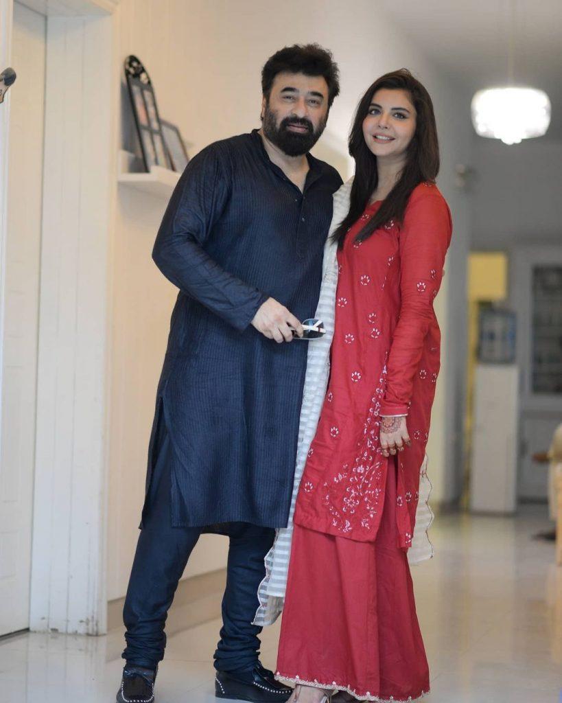 Eid Portraits Of Nida Yasir With Her Family