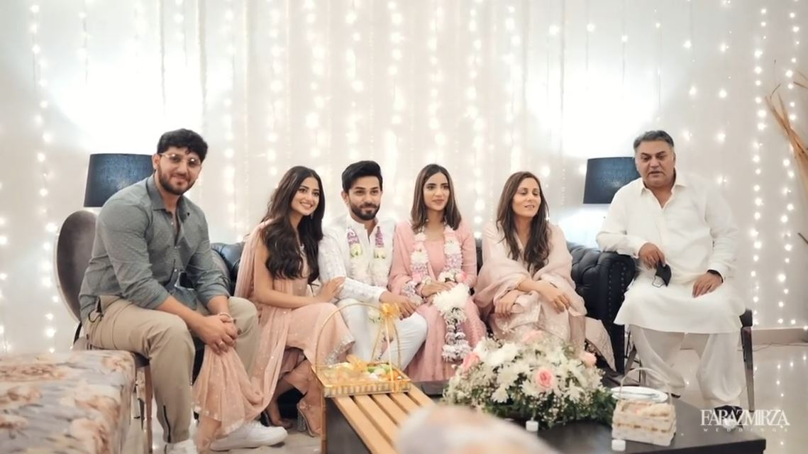 Saboor Aly and Ali Ansari Engagement Video